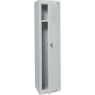 Sandusky Single Tier Storage Locker, Dove Gray