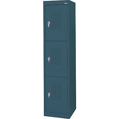 Sandusky Triple Tier Storage Lockers