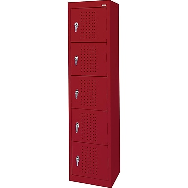 Sandusky Five Tier Storage Lockers