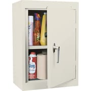 Sandusky Solid Single Door Cabinet, Putty