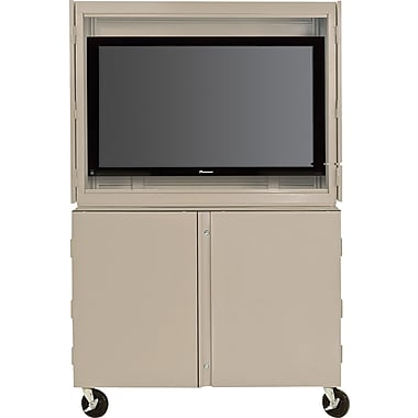 Sandusky Audio Video Storage Cabinet with Casters