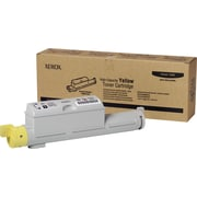 Xerox Phaser 6360 Yellow Toner Cartridge (106R01220), High Yield