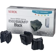 Xerox Phaser 8560/8560MFP Black Solid Ink (108R00726), 3/Pack