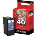 Lexmark 40 Photo Black Ink Cartridge (18Y0340)