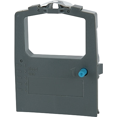 Porelon 11582 Nylon Printer Ribbon with Re-Inker Roll for Okidata Microline 420/421/490 Printers