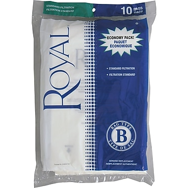 Royal® Type B Micron Vacuum Bags, 10/Pack