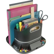 Staples 14470-US SpinWorx Rotating Desk Organizer
