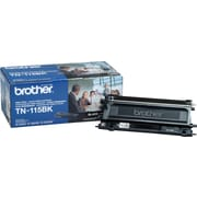 Brother TN-115BK Black Toner Cartridge, High Yield