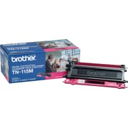 Brother TN-115M Magenta Toner Cartridge, High Yield