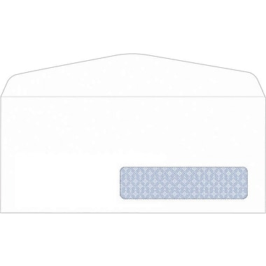 Staples Commercial Flap Security tint #10 Envelopes, 4 1/8