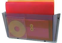 Staples® Unbreakable Single Smoke Wall Pocket, Letter-Size