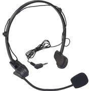 Amplivox Condensor headset mic with 40in. cord and 12' extension