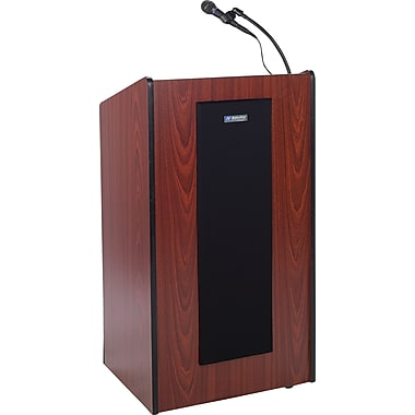 Amplivox Presidential Plus Lectern (Medium Oak)