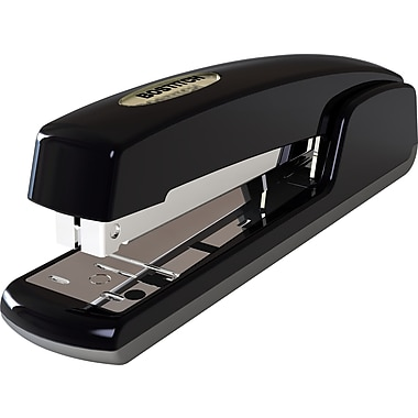 Stanley Bostitch Antimicrobial Full-Strip Stapler, Black, 20 Sheet Capacity