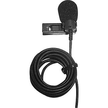 Amplivox Condensor lapel mic with 40in. cord and 12' extension