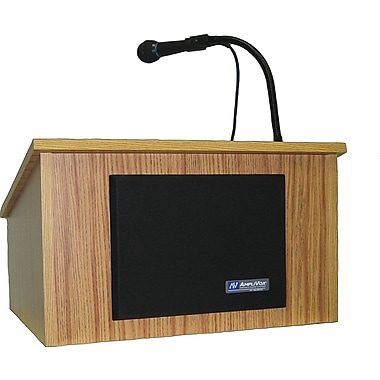 Amplivox Wireless Tabletop Lectern (Walnut)