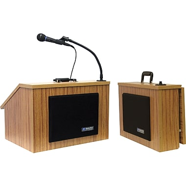 Amplivox EZ Speak Folding Lectern w/Carrying case (Medium Oak)