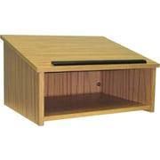 Amplivox Non-Sound Modular Tabletop Lectern (Oak)