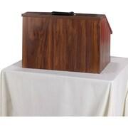 AmpliVox Sound Systems Tabletop Lectern, Mahogany (W272-WT)