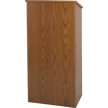 Amplivox Floor Lectern (Medium Oak)