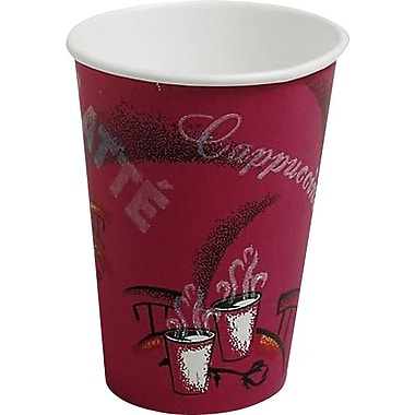 SOLO® Bistro™ Paper Hot Cups, 12 oz., 50/Pack