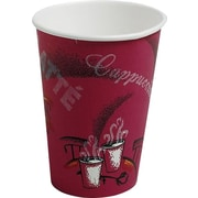 SOLO® Bistro™ Paper Hot Cups, 8 oz., 500/Case