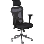 Balt® Ergo Mesh Executive High-Back Chair, Black