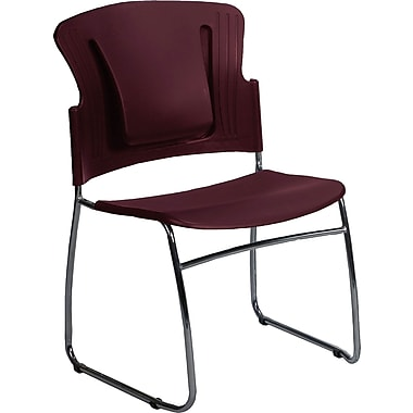 Balt ReFlex™ Stacking Chairs, Burgundy