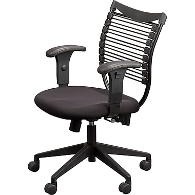Balt Seatflex™ Manager's Chair with Padded Mesh Seat, Black
