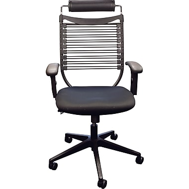 Balt Seatflex™ Padded Mesh Executive Mid-Back Chair, Black
