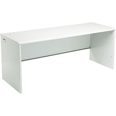 HON 38000 Series 72in. Credenza Shell, Light Gray/Light Gray