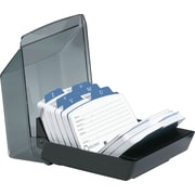 Rolodex® Petite Covered Card File, 250 Cards
