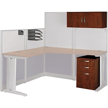 Bush Office-in-an-Hour Storage and Accessory Kit, Hansen Cherry