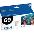 Epson 69 Black Ink Cartridges (T069120-D1/D2), 2/Pack