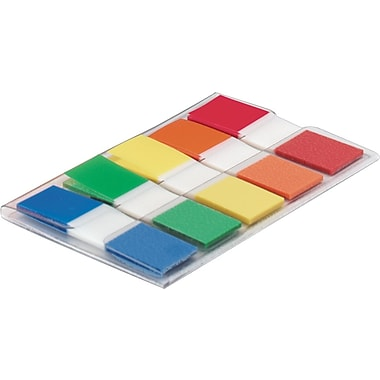 Post-it® 1/2in. Assorted Flags, 100 Flags/Pack