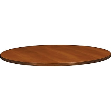 basyx by HON BW 42in. Round Table Top, Bourbon Cherry