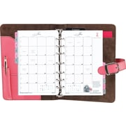 Day-Timer® Pink Ribbon Collection Starter Set, Snap-Tab Closure, Desk Size