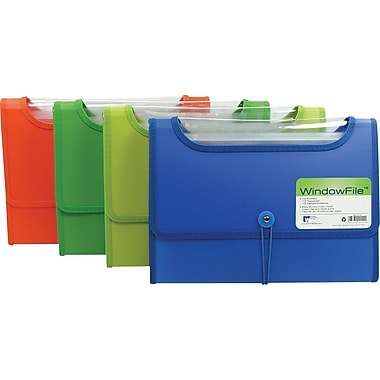 Winnable Top View 13-Pocket Expandable Files, Letter