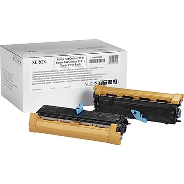 Xerox FaxCentre 2121 Black Toner Cartridge (006R01298), 2/Pack