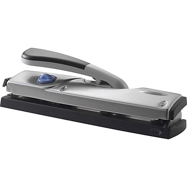 Swingline® ProFile™ 3- to 4-Hole Punch for Letter & Legal Paper, 20/Letter or 5/Legal Sheet Capacity