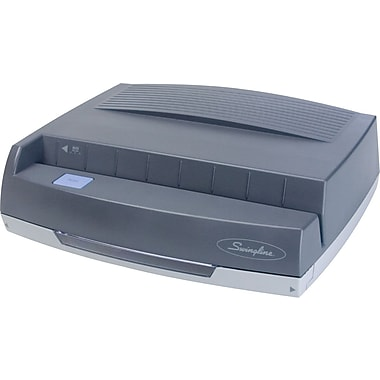 Swingline® Medium-Duty Electric 3-Hole Punch, 50 Sheet Capacity