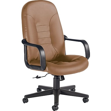 Global Custom Leather Manager's Chair, Chamois