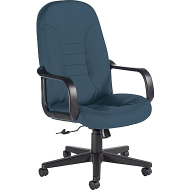 Global Custom Leather Manager's Chair, Surf