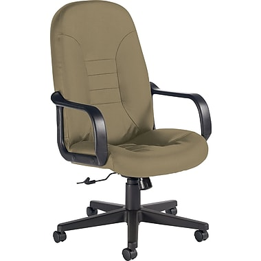 Global Custom Leather Manager's Chair, Melon