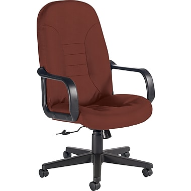 Global Custom Leather Manager's Chair, Bronze