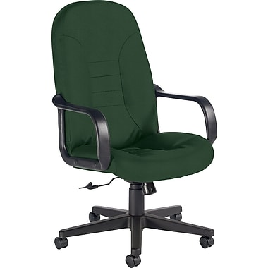 Global Custom Leather Manager's Chair, Alpine