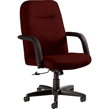 Staples Fuller Custom Leather Manager's Chair, Chaps