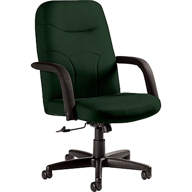 Staples Fuller Custom Leather Manager's Chair, Alpine
