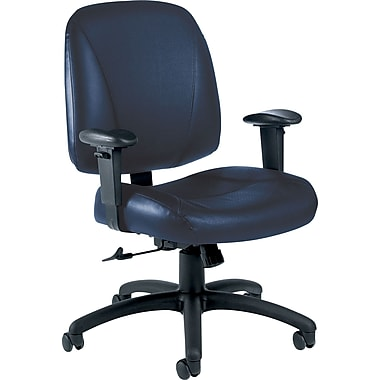 Global Italia Custom Leather Office Chair, Delta