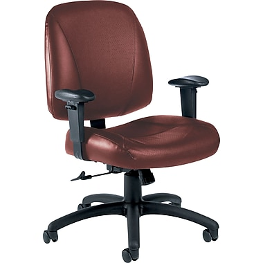 Global Italia Custom Leather Office Chair, Chaps